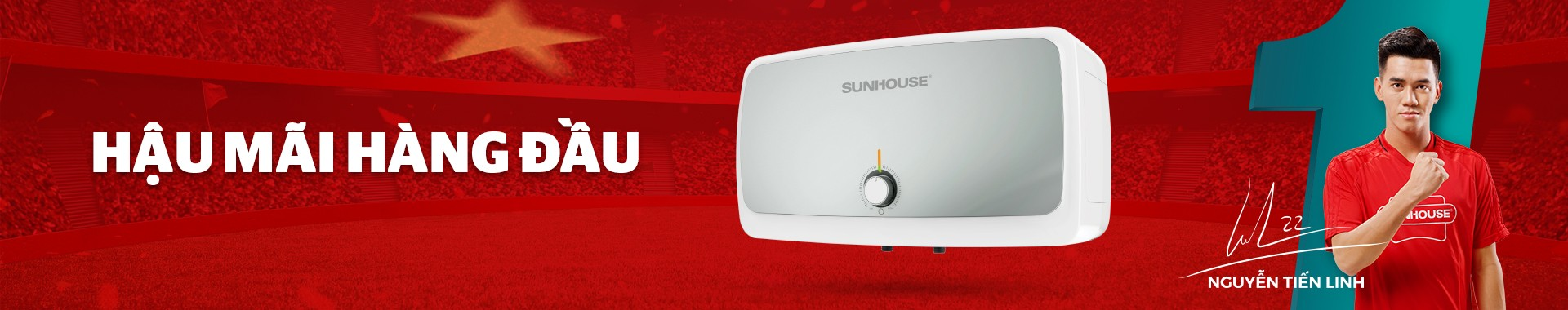 Bình nóng lạnh - Máy nước nóng - Điện tử điện lạnh SUNHOUSE