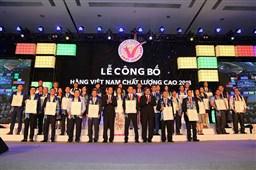 Luôn đặt chất lượng sản phẩm lên hàng đầu, SUNHOUSE tiếp tục đạt danh hiệu Hàng Việt Nam chất lượng cao 2018