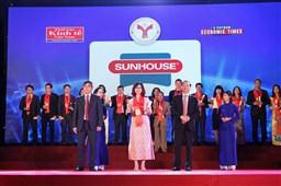 SUNHOUSE tiếp tục đón nhận danh hiệu Thương hiệu mạnh Việt Nam