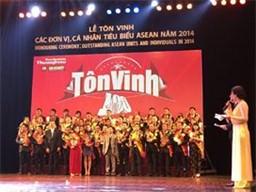 """Tập đoàn Sunhouse vinh dự nhận giải thưởng """"Top 100 thương hiệu – nhãn hiệu hàng đầu Asean 2014"""""""